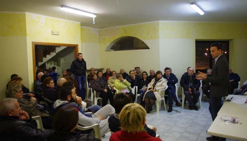L'assemblea al quartiere San Filippo