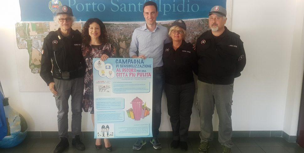 Al via Campagna di sensibilizzazione per il decoro e una città più pulita