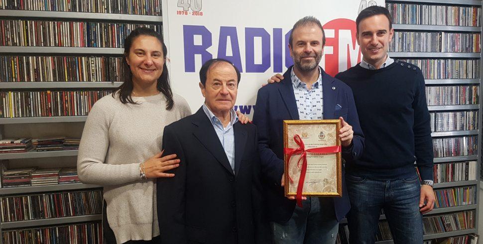 L'Amministrazione Comunale festeggia i 40 anni di Radio FM